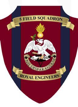 5 Field Squadron Plaque